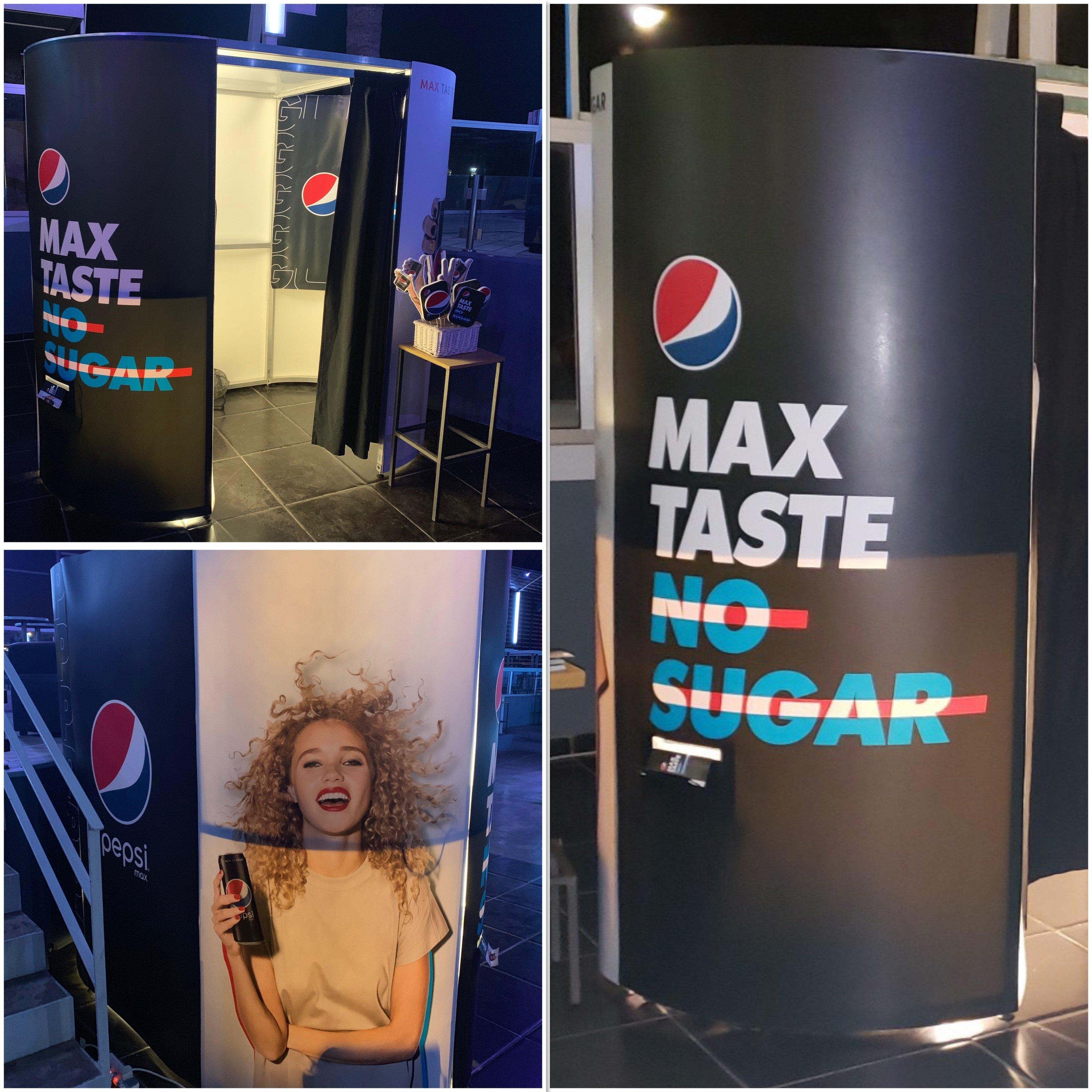 Pepsimax Booth @summerclub