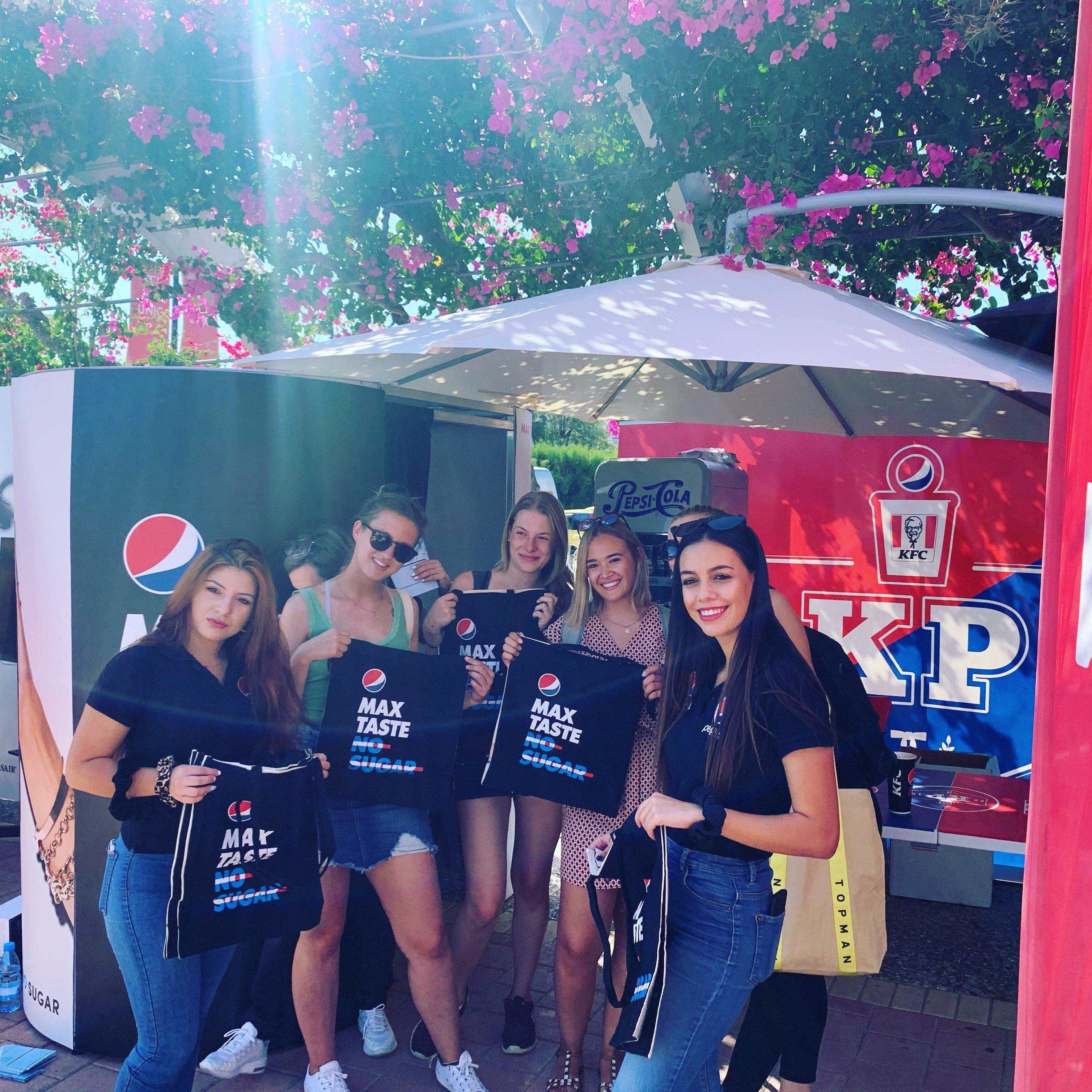 Pepsi Booth @unifest2019